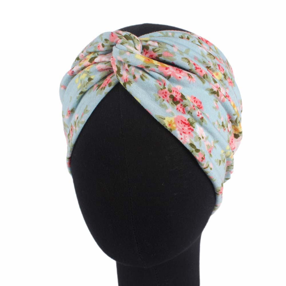 Outtop Women Ladies Garden Floral Sports Head Warp Hair Band Elastic Headband