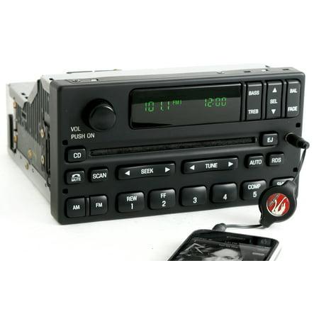 Ford Pickup Radio - 1999-2004 Ford F150 Pickup Radio AM FM CD w Auxiliary 3.5mm Input 1L3F-18C869-AA - Refurbished