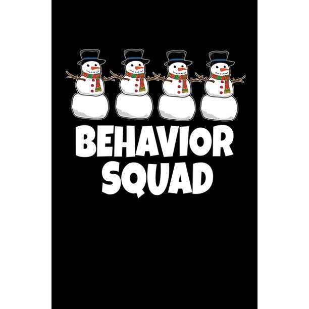 Behavior Squad: Behavior Analyst Notebook Gift For Board