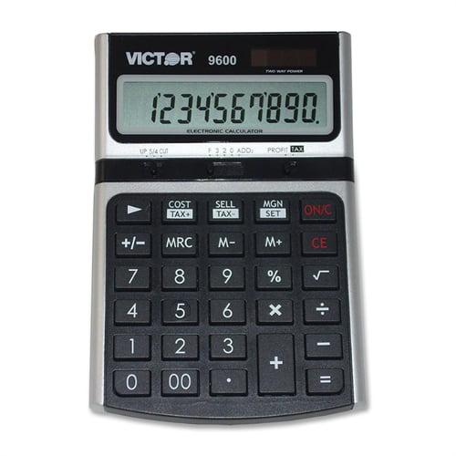 Victor Technologies VCT Desktop Business Calculator 9600