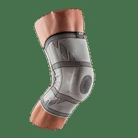 McDavid MD5133 Knee Sleeve/4-Way Elite Elastic w/Gel Buttress And Stays, Adult XL, ULTRASILV