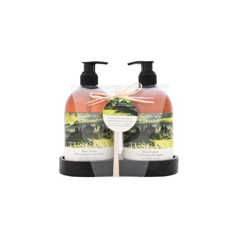 Brompton & Langley Exotic Retreats Caddy Hand Wash and Lotion Set, Tuscany, 2