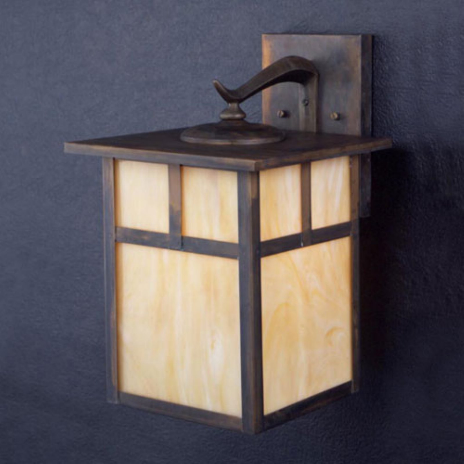 Kichler Alameda Outdoor Wall Lantern - 14H in. Canyon View