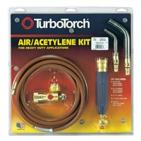 TurboTorch Torch Kit Swirls, Acetylene, X-3B, B Tank