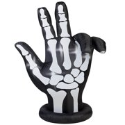 "84"" Inflatable Animated Skeleton Hand"