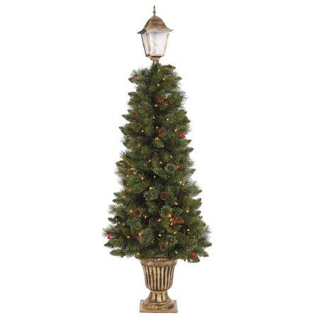 Holiday Living Christmas Tree.Holiday Living 6 Ft Pre Lit Porch Tree Walmart Com