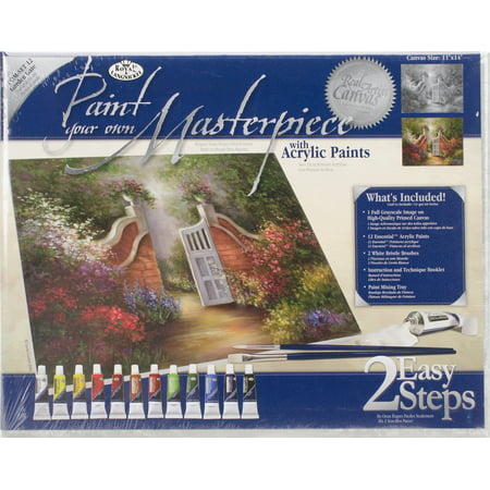 Acrylic Paint Your Own Masterpiece Kit 11
