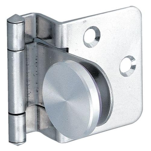 LAMP GH-34/8/CR-P Glass Door Hinge, Stainless Steel, 270 Deg