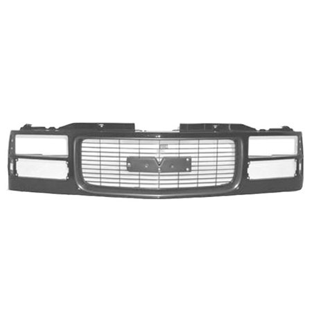 Gmc Suburban Grill - CPP Grill Assembly for GMC Pickup, Suburban, Yukon Grille