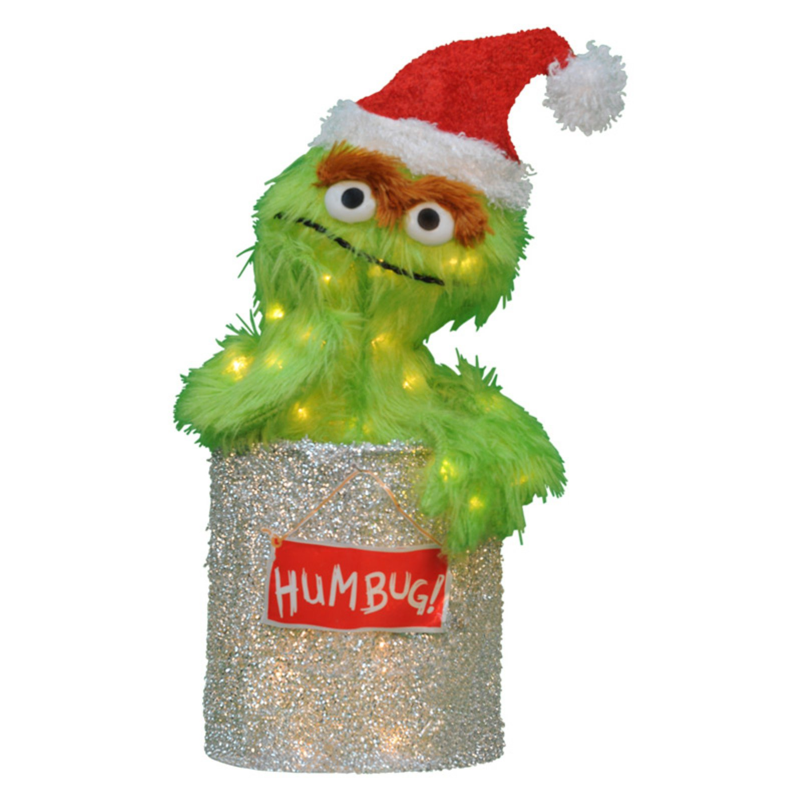Product Works 18 in. Sesame Street Oscar the Grouch Lawn Art