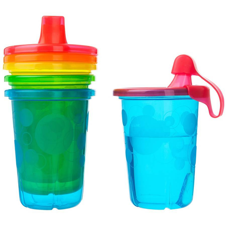 The First Years Take & Toss Spill-Proof Sippy Cups, BPA-Free - 10oz, 4 pack
