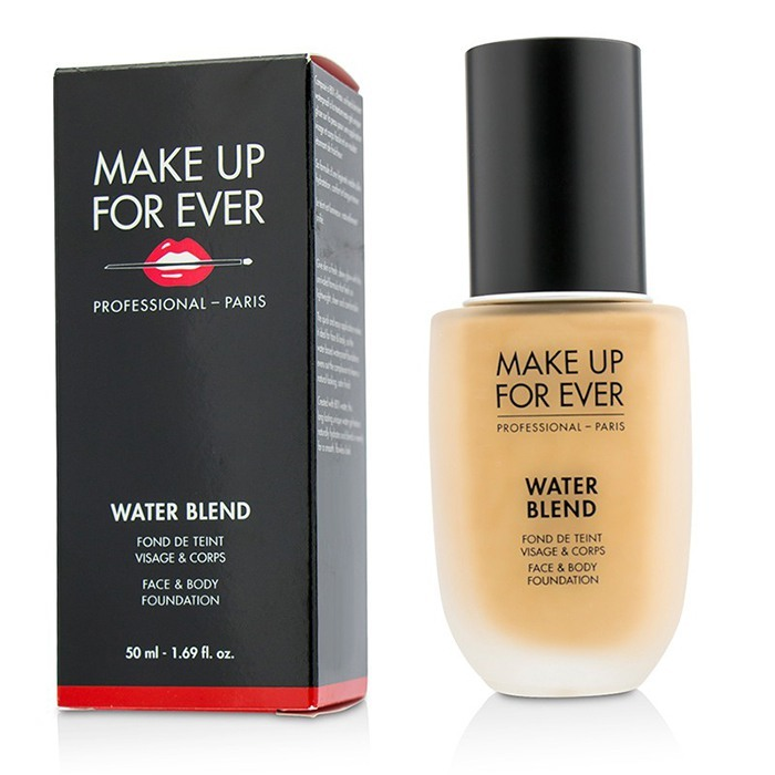 Make Up For Ever Water Blend Face & Body Foundation - # Y325 (Flesh) 50ml/1.69oz