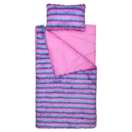 Limited Too Unicorn Fuzzy Slumber Bag and Mini Pillow Set by Limited Too - Mini Pillow