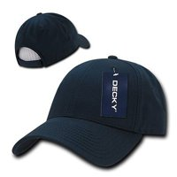 d81f2c07 Product Image Navy Blue Cotton Plain Solid Golf Structured 6-Panel Baseball  Ball Cap Hat