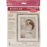 """Old Photo: Riviera Counted Cross Stitch Kit, 10.25"""" x 15"""", 14 Count"""