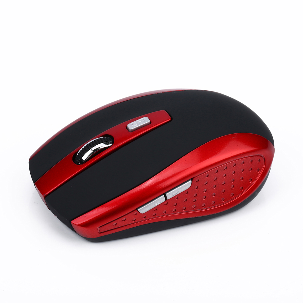 Mini Ergonomic Optical Office BT Wireless Mouse Mice Adjustable 2400 DPI with 6 Buttons for Mac Laptop PC Notebook