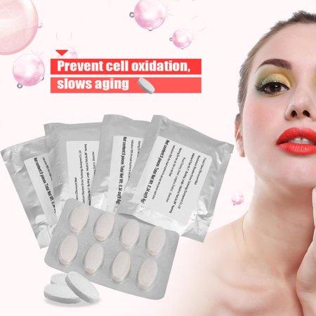 VGEBY 32Pcs Collagen Peptide for Face Mask Machine,DIY Natural Fruit Vegetable Facial Care Mask Maker FDA (Best Natural Face Mask)