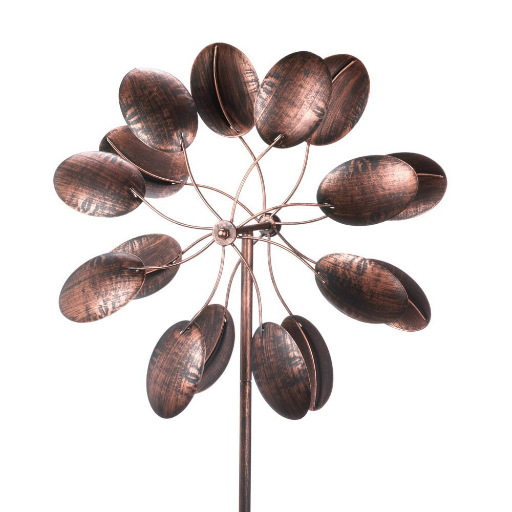 15212 84 inch Rustic Pinwheel Garden Windmill, Perfect gift for those that love outdoor... by