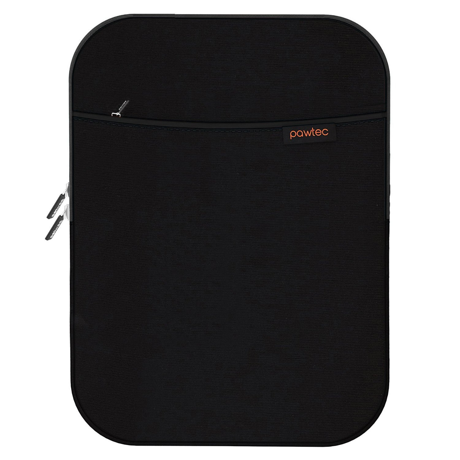"""Pawtec iPad Air / Pro 9.7"""" Tablet Shockproof Neoprene Protective Storage Carrying Sleeve Case Apple With Extra Storage Pocket for Accessories and Wall Charger"""