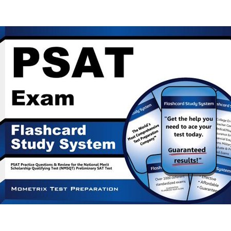 PSAT Exam Flashcard Study System : PSAT Practice Questions and Review for the National Merit Scholarship Qualifying Test (NMSQT) Preliminary SAT