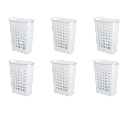 Sterilite Sorting Hamper White Case of 6