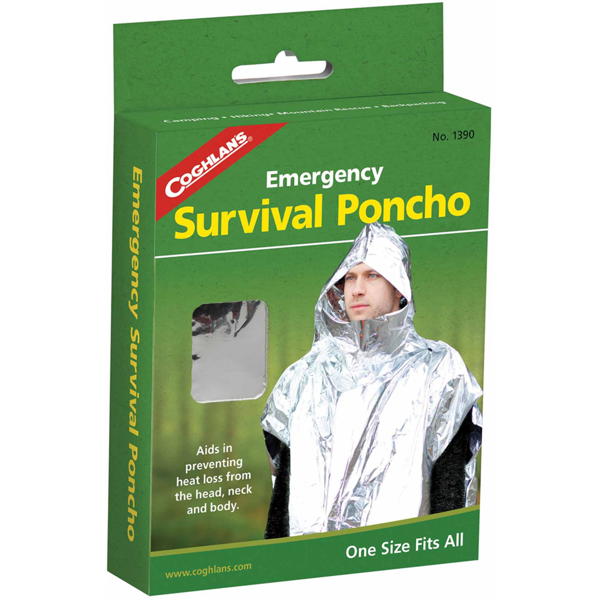 Coghlan's 1390 Emergency Survival Poncho by Generic