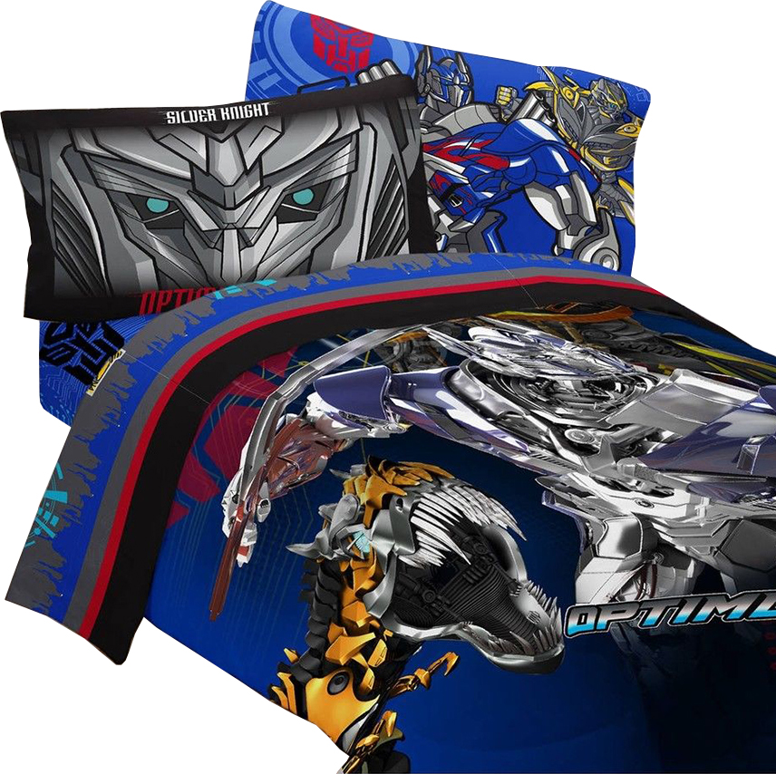 4pc Transformers 4 Twin Bedding Set, Transformers Bedding Full Size