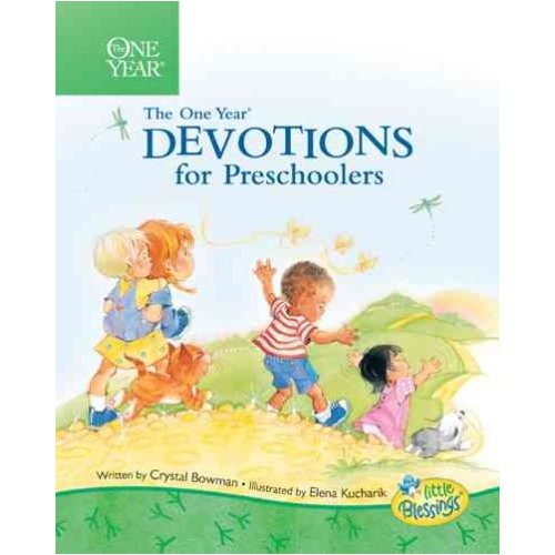 One Year Book of Devotions for Preschoolers