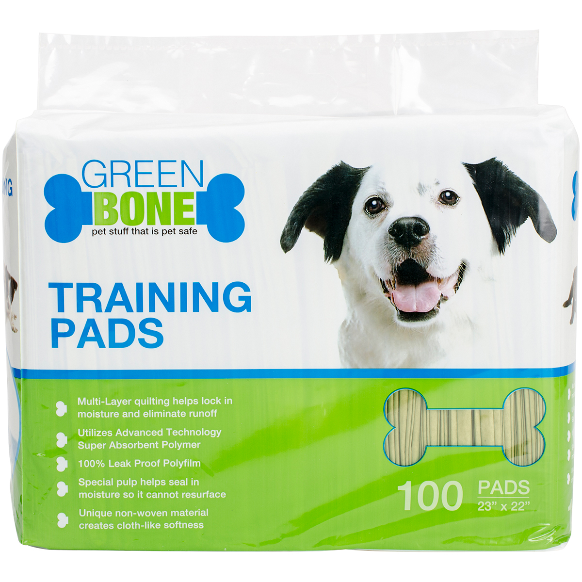 Greenbone Bio-Pet Training Pads 100/Pkg-