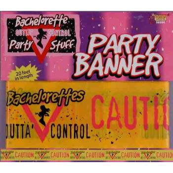 BACHELORETTE-PARTY BANNER 20FT 12 PACK - Bachelorette Costume