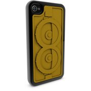 Apple iPhone 4 and 4S 3D Printed Custom Phone Case - Despicable Me - Minion Goggles