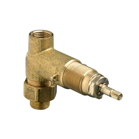 American Standard 1/2 in. Inlet/Outlet Rough On/Off Volume Control Valve American Standard 12 Rough