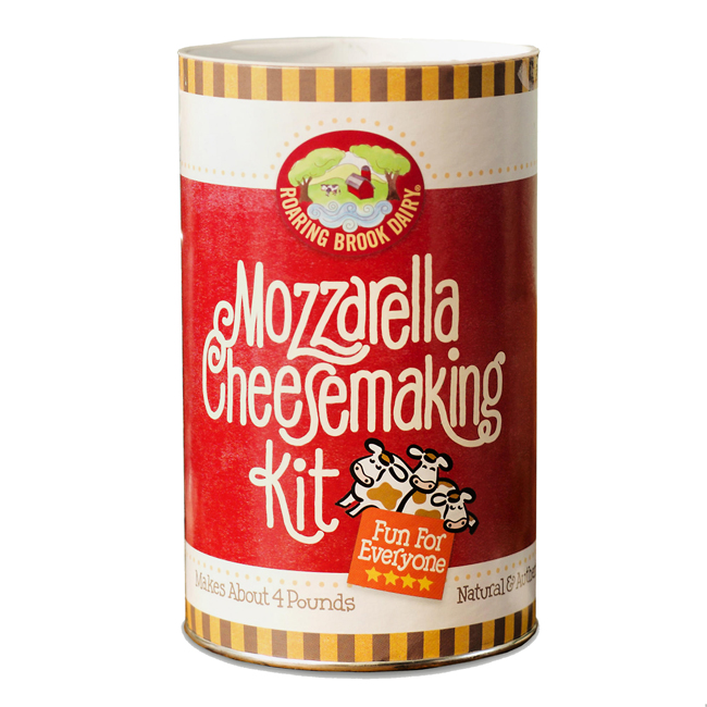 Roaring Brook Dairy DIY Mozzarella Cheesemaking Kit