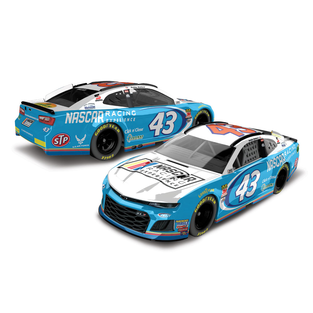 Darrell Wallace Jr. Action Racing 2018 #43 Nascar Racing Experience 1:64 Regular Paint... by Lionel LLC
