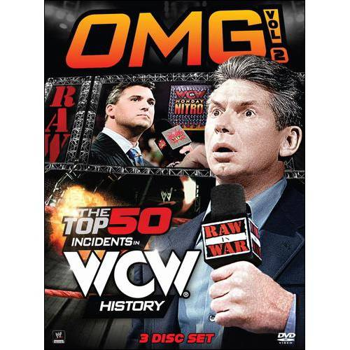 WWE: OMG!, Vol. 2: The Top 50 Incidents In WCW History WWED95333D