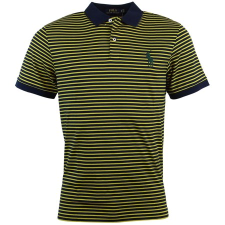 Polo Ralph Lauren Men's Pro Fit Striped Polo Shirt ()