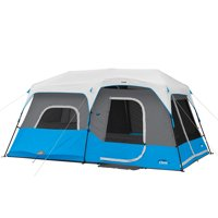 Core Equipment 14' x 9' Lighted Instant Cabin Tent, Sleeps 9