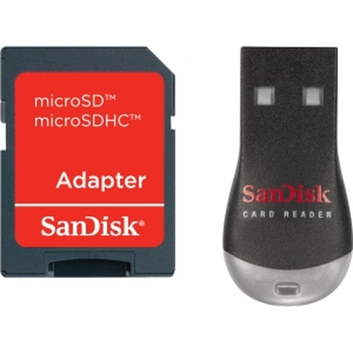 SanDisk SDDRK121A46M MobileMate Duo Reader for Micro