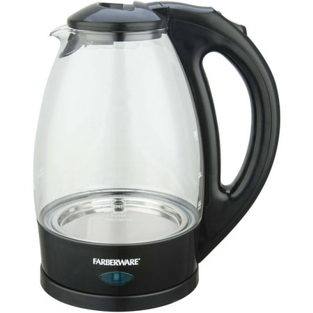 how to clean water residue off electric kettle