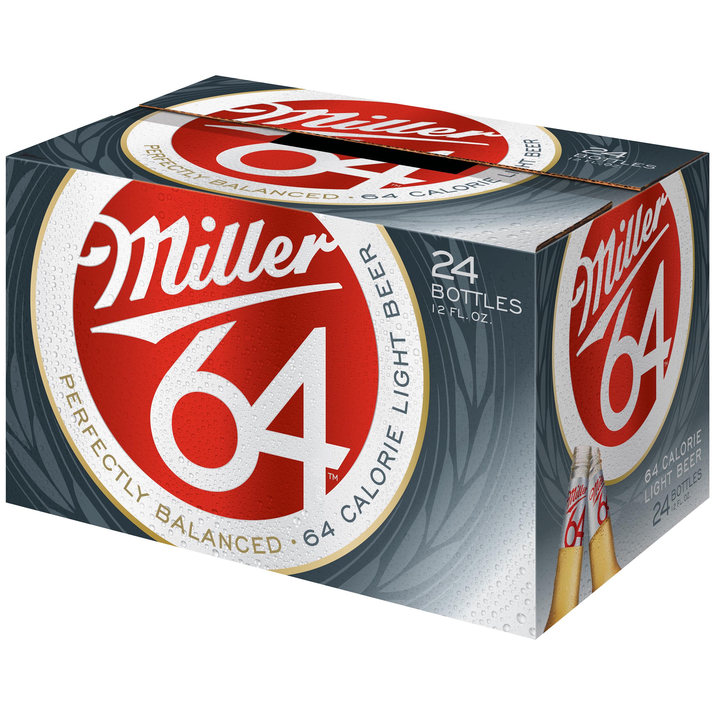 Miller64 Beer 24-12 fl. oz. Bottles