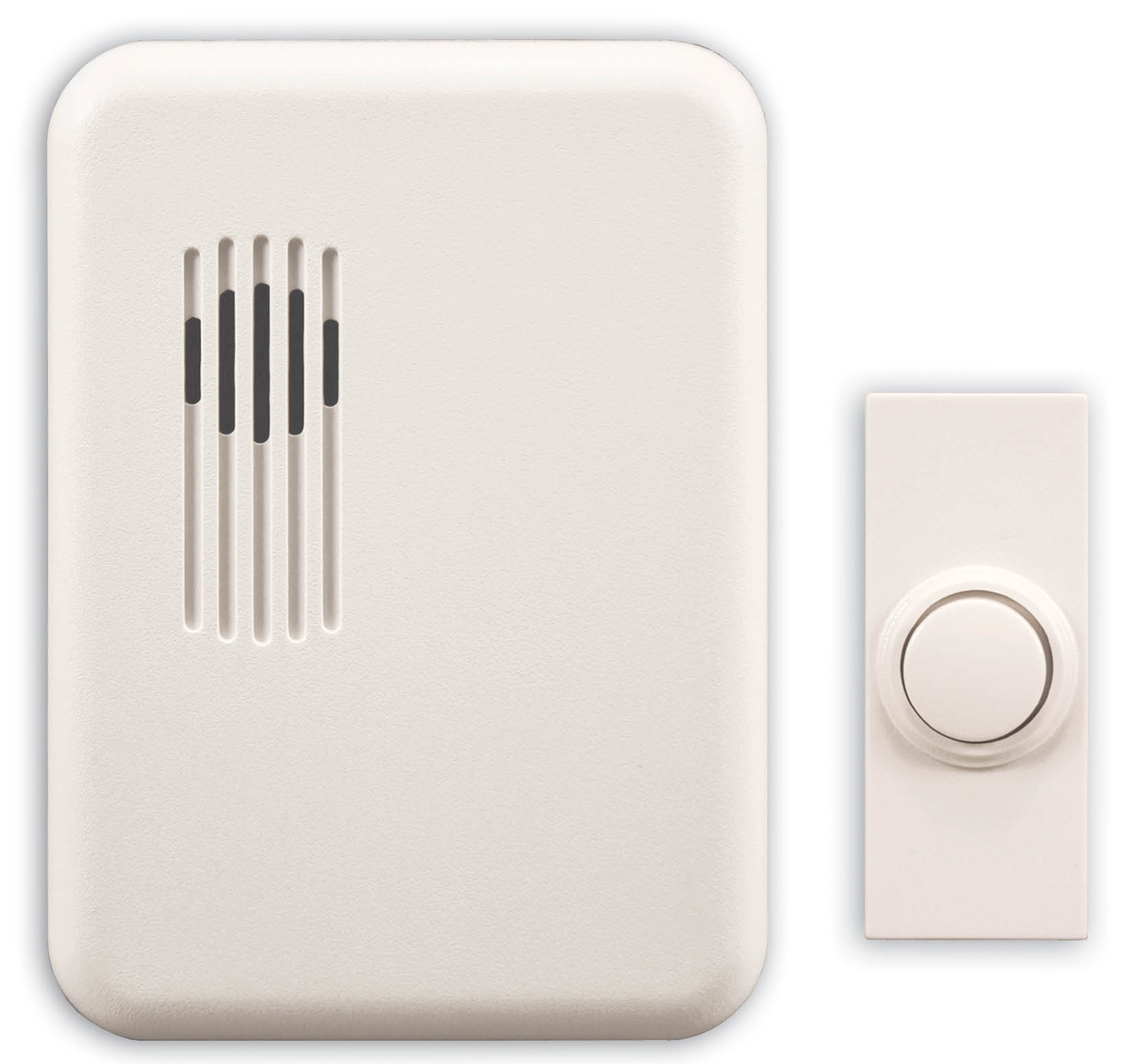 Doorbell Chime with Push Button DL-6153 Heath Zenith Wireless Battery Op