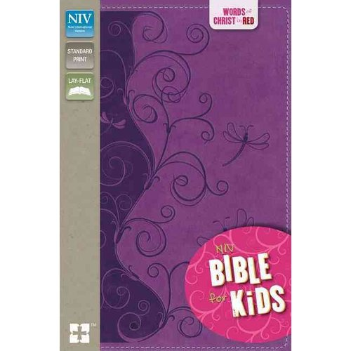 Holy Bible: New International Version, Violet Vines, Italian Duo-Tone, Bible for Kids