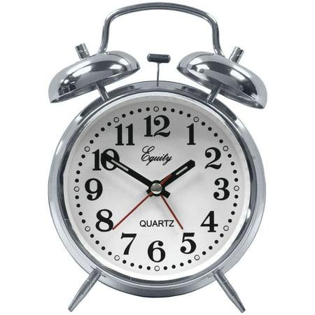 Quartz Alarm - Equity By La Crosse 13014 Analog Quartz Alarm Clock