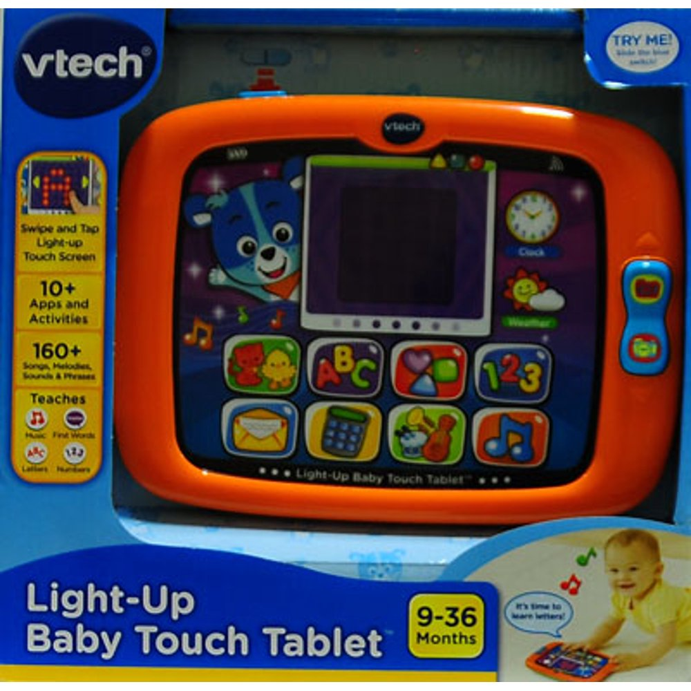 Vtech light-up baby touch tablet assortment