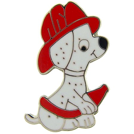 Fireman With Hose (Fireman Puppy Dog with Hose Pin)