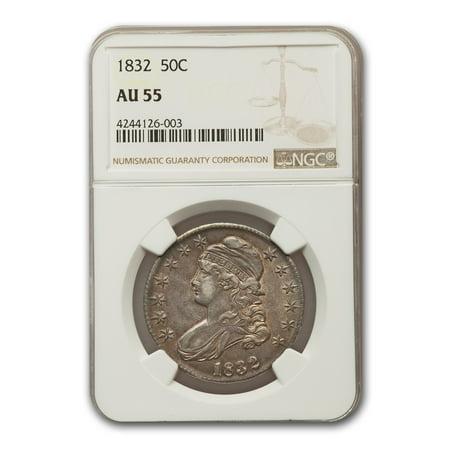 1832 Capped Bust Half Dollar AU-55 NGC