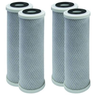 Whirlpool WHKF-DB1 Undersink Water Filter Replacement Cartridges 4 (Whirlpool Inline Water Filter Whkf R Plus)