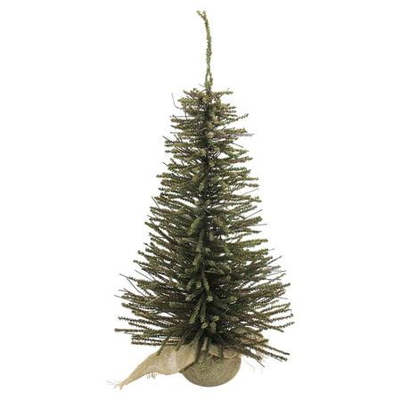 Pre Lit Twigs - Northlight Warsaw Twig Artificial Pre-Lit Christmas Tree in Burlap Base