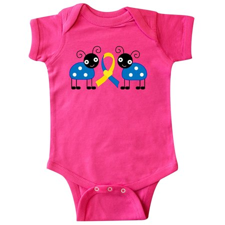 - Down Syndrome Ribbon Ladybug Infant Creeper