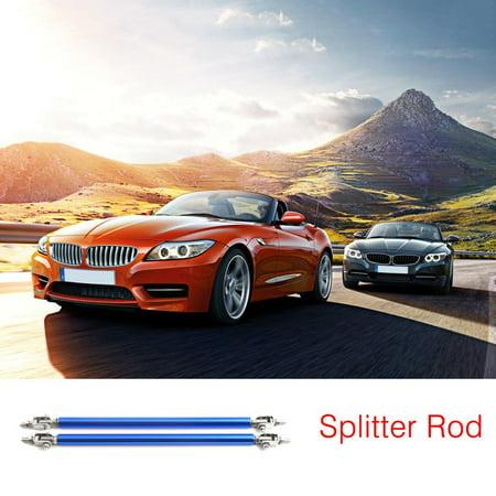 2pcs Universal Car Front Back Bumper Lip Splitter Rod Adjustable Support Bars - image 4 de 8